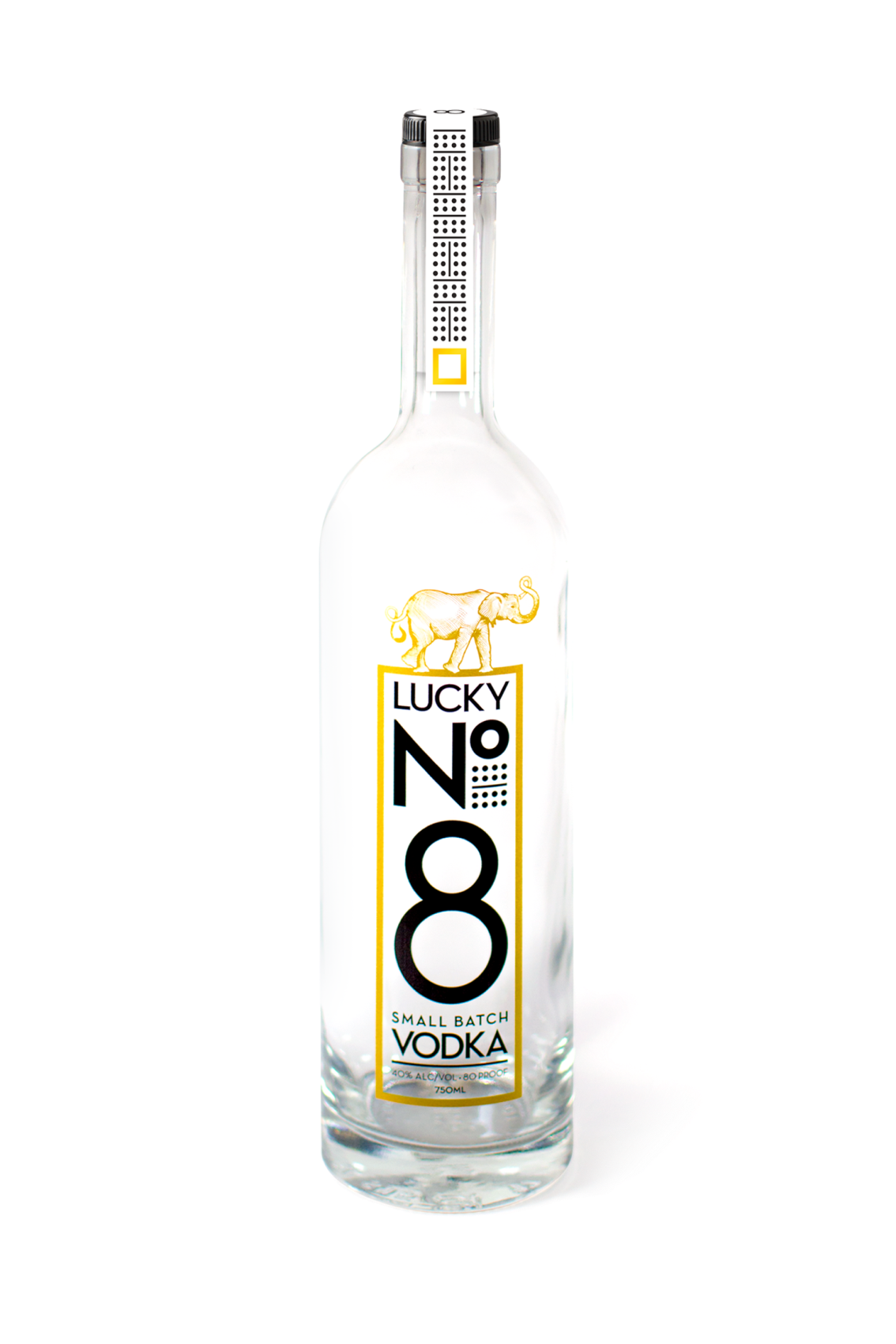 Bottle Lucky No.8 vodka